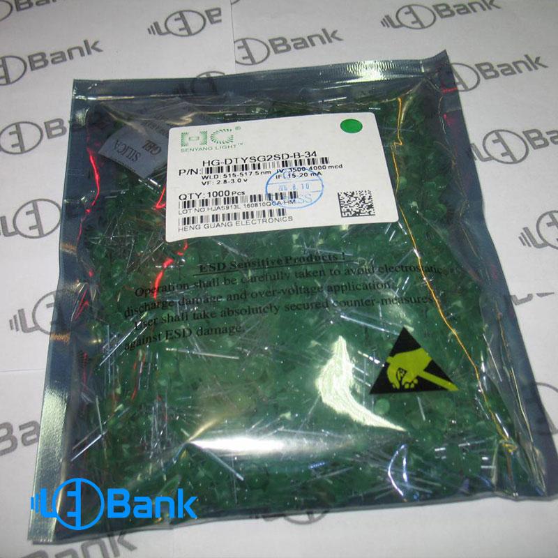 led-oval-green