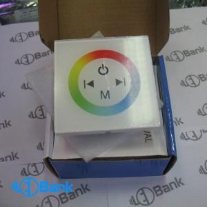 کنترلر 12 آمپر RGB.W LED کنترل تاچ توکار