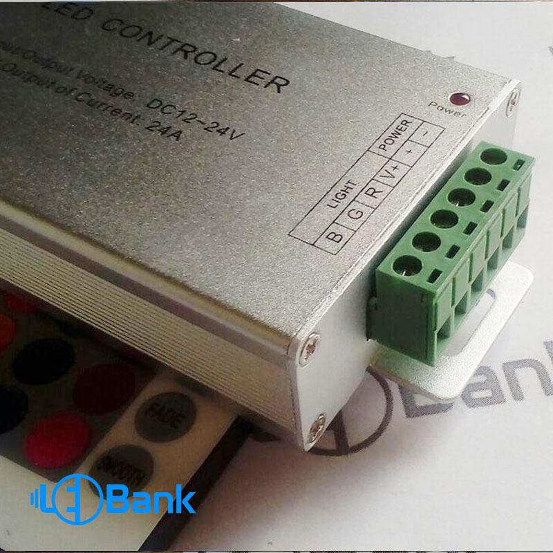 درایور ریموت کنترلر ۲۴ آمپر RGB