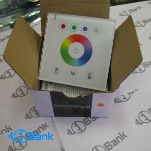 کنترلر 32 آمپر RGB.W LED کنترل تاچ توکار