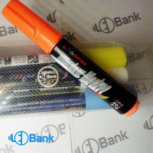 ست ماژیک فلورسنت 8 رنگ قلم درشت window marker