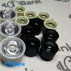 لنز ال ای دی پاور ، لنز انگشتی 60 درجه سفید و سیاه