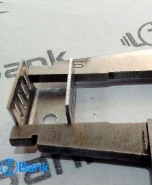 هیت سینک led جنس آلومینیوم کد H-11535 خنک کننده ال ای دی عرض 9 میلیمتر