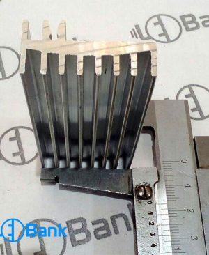 هیت سینک led جنس آلومینیوم کد H-10638 خنک کننده ال ای دی عرض 29 میلیمتر