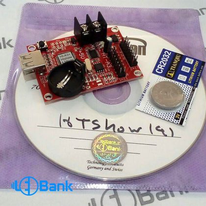کنترلر نمایش تابلو ال ای دی ایرانی HT-A3 قابلیت نمایش گیف و متن 3 بعدی