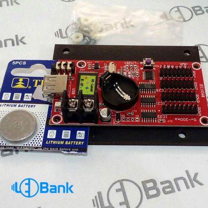 کارت کنترل تابلو روان طیف دار ایرانی HS4 و HS8 قابلیت پخش فیلم