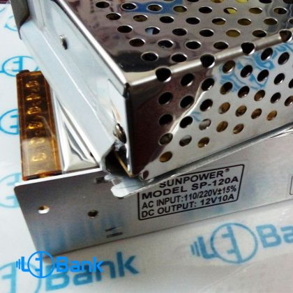 پاور سوئیچینگ 10 آمپر 12 ولت فلزی کیس کوچک