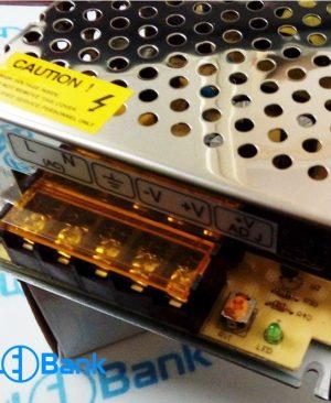 پاور سوئیچینگ 5 آمپر 12 ولت فلزی کیس کوچک و بزرگ