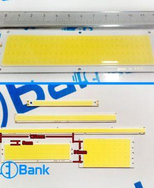 ال ای دی COB خطی 12 ولت سایز 36×120 میلیمتر دو سر لحیم