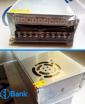 پاور سوئیچینگ 12 ولت 20 آمپر فلزی فن بزرگ اتوماتیک