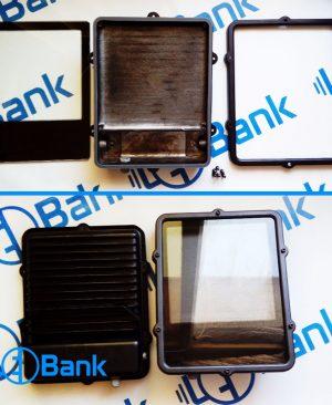 قاب پروژکتور ضد آب 56 وات دایکاست سنگین با شیشه ضد حرارت