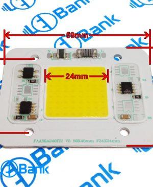 ال ای دی سی او بی 20 وات سفید آفتابی ورودی 220 ولت