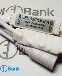 آمپلی فایر LED RGB 12V 6A | تقویت کننده درایور LED RGB