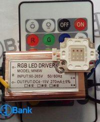 درایور LED RGB پروژکتور ال ای دی