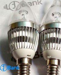 فریم لامپ شمعی ال ای دی اشکی