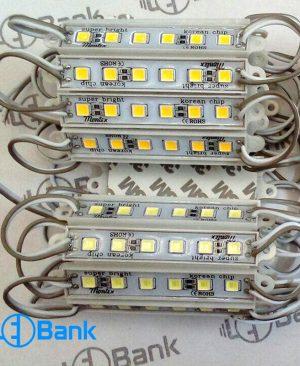 ال ای دی اس ام دی بلوکی 6 چیپ رزین دار کره ای رنگ آفتابی، مهتابی و طبیعی