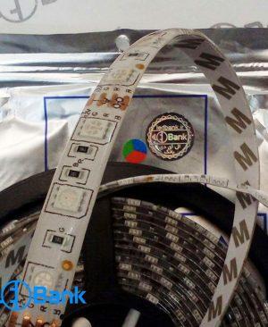 ال ای دی نواری RGB سه رنگ رزین دار چیپ ۵۰۵۰
