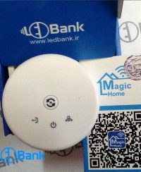 کنترلر هوشمند ال ای دی نواری RGB خانه هوشمند Magic home WiFi