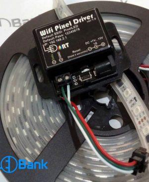 کنترلر ال ای دی RGB تحت نرم افزار و گوشی موبایل (اندروید، IOS)
