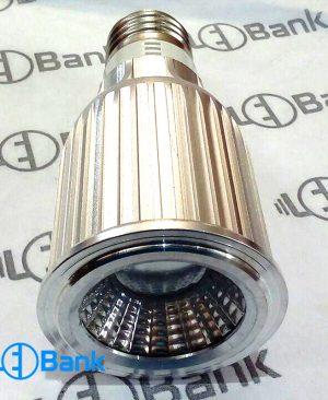 قاب لامپ ال ای دی لنز دار 9 وات COB رفلکتوردار