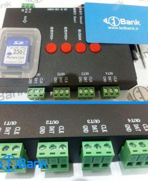 کنترلر نورپردازی دیجیتال رم SD نرم افزار LED Edit