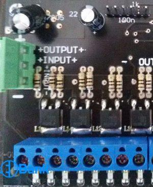 کنترل فلاشر 16 کاناله تابلو ال ای دی ثابت برند آریا الکترونیک