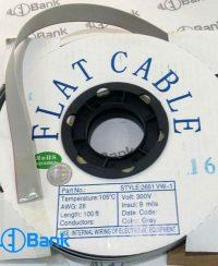 کابل فلت 16 رشته کلاف 30 متری برای انتقال اطلاعات بین ماژول و کارت کنترل (مین برد)