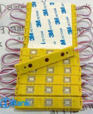 اس ام دی بلوکی رنگ امبر ( زرد ) ضد آب با چیپ 5730 مارک شاین