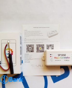 کنترل ال ای دی پیکسل آی سی دار وای فای wifi مجیک