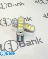 لامپ اس ام دی ال ای دی خودرو رنگ سفید ، مخصوص کاسه چراغ ماشین و موتورسیکلت