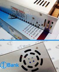 ترانس سوئچینگ 12 ولت 30 آمپر فن دار POWER SUPPLY