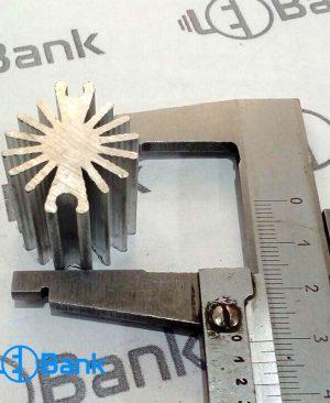 هیت سینک led جنس آلومینیومی کد H121 خنک کننده ال ای دی
