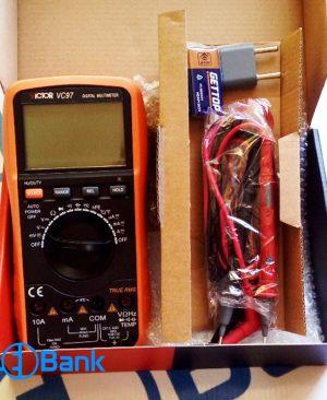 مولتی متر اتو رنج دیجیتال ویکتور Victor VC97