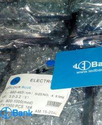 ال ای دی کلاهی آبی ELECTRONICS