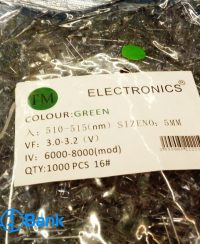 ال ای دی کلاهی سبز ELECTRONICS