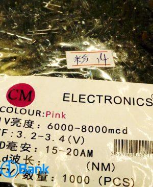 ال ای دی کلاهی صورتی دو چیپ برند Electronics