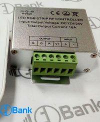 کنترلر ریموت تاچ رادیویی rgb هفت رنگ برای برنامه ریزی انواع افکت ال ای دی