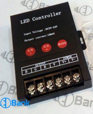 کنترلر led رادیویی (RF) آرجی بی (rgb) ریموت دار برد بلند