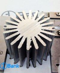 هیت سینک خورشیدی گرد خنک کننده ال ای دی کد (h-229)