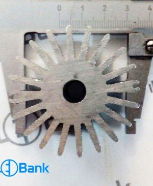 هیت سینک خورشیدی گرد خنک کننده ال ای دی کد (h-166)