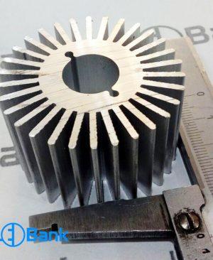 هیت سینک خورشیدی گرد خنک کننده ال ای دی کد (h-168)