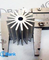 هیت سینک خورشیدی گرد خنک کننده ال ای دی کد (h-175)