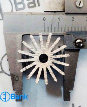 هیت سینک خورشیدی گرد خنک کننده ال ای دی کد (h-26882) قطر 30 میلیمتر