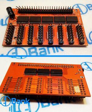 هاب 8 معمولی برد کنترل تابلو روان HUB256-T8