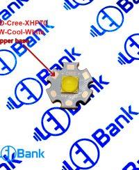 ال ای دی کری (Cree) 33 وات 6 ولت XHP70 سفید مهتابی