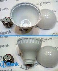قاب لامپ ال ای دی 5-7 وات 1000 تایی حبابی پلاستیکی
