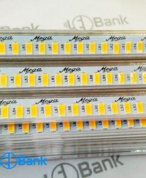 چراغ led خطی ضد آب امبر (نارنجی)، ۲۲۰ ولت تراکم 144، پوشش دار، برند مگا کره
