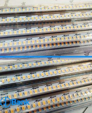 چراغ led خطی ضد آب صورتی ۲۲۰ ولت تراکم 144، پوشش دار، برند مگا کره