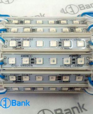 ال ای دی اس ام دی بلوکی آبی ۶ چیپ، کره ای رزین دار، چسپ ۳M