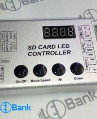 کنترلر پیکسل ال ای دی HC008 قابلیت شبکه با ریموت و بدون ریموت
